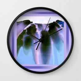 Rainbow Falls Wall Clock