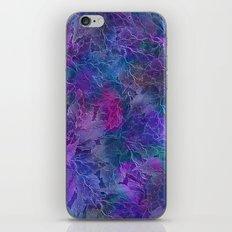 Frozen Leaves 5 iPhone & iPod Skin