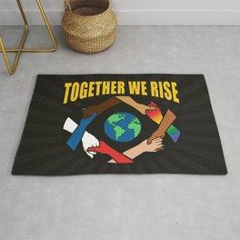 Together We Rise Rug