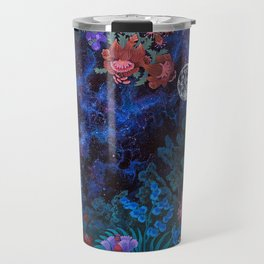 Space Garden Cosmos Travel Mug