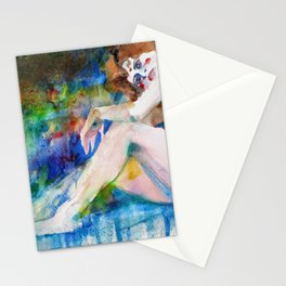 NUDE OF WOMAN - MARCH 3,2017 Stationery Cards