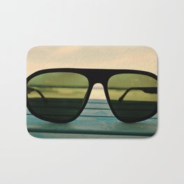 Chillax the Glass Bath Mat