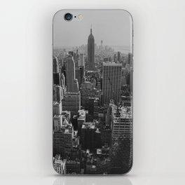 New York City Print iPhone Skin