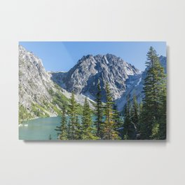 Blue Sky Over Enchantments Metal Print