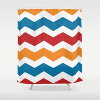 charizard Shower Curtains featuring Charizard by Halamo Designs
