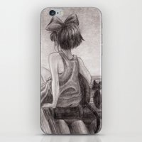 kiki iPhone & iPod Skins featuring Kiki by Kimberly Castello