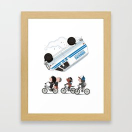 stranger thing Framed Art Print