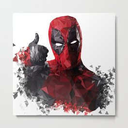 DP Low-Poly Shatter Metal Print
