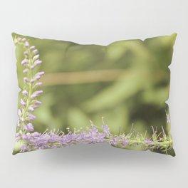Purple Abstract Flower Vintage Pillow Sham