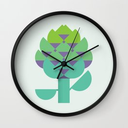 Vegetable: Artichoke Wall Clock