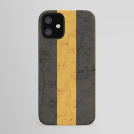 Black and Gold House Colours iPhone Case