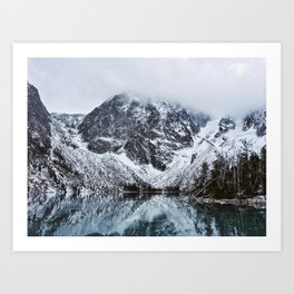 Colchuck Lake, WA Art Print