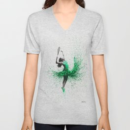 Wimbledon Woman Unisex V-Neck