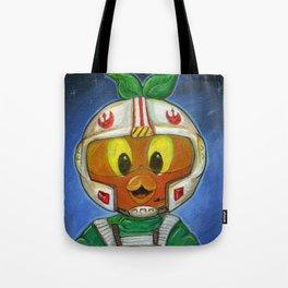 Li'l Orange Leader Tote Bag
