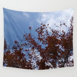 Some of the Leaves, More of the Sky Wall Tapestry