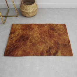 When A Fire Starts To Burn Rug