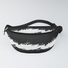 Abstract Wave Fanny Pack