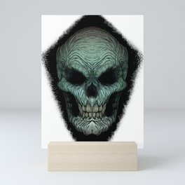 Skull Dark Mini Art Print
