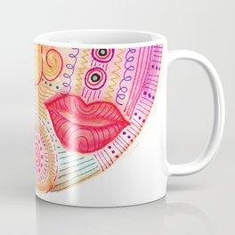 watch my lips mask Coffee Mug
