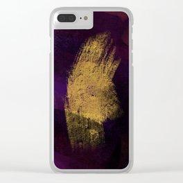 I Dieci Mondi (2.Avidità) Clear iPhone Case
