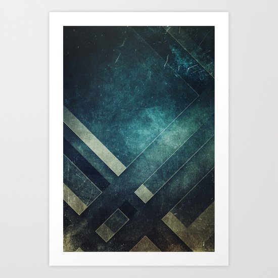 Dreaming in levels Art Print