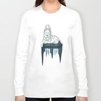 bad wolf Long Sleeve T-shirts featuring BAD WOLF by Emma Lindkvist