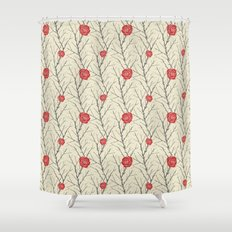 Branch & Roses Shower Curtain