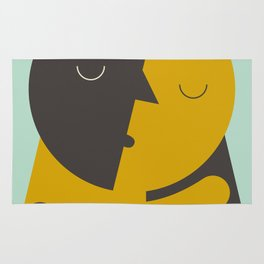 Love poster Rug