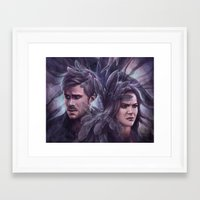 destiny Framed Art Prints featuring Destiny by Svenja Gosen