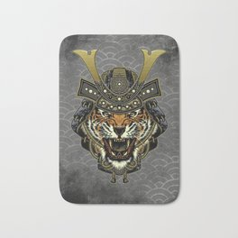 Samurai Tiger Bath Mat