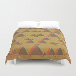 Mountainous Perspective Duvet Cover