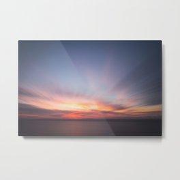Malibu Sunrise C3 - California Ocean Sunrise Metal Print