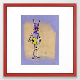 Deadly Sinbot 4: Lustivus Framed Art Print