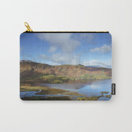 View from Surprise View over Derwent Water to Cat Bells. Lake District, UK. Carry-All Pouch