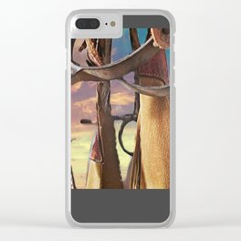 Purs hanging Clear iPhone Case