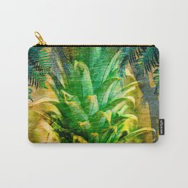 Stand Tall, Green Pineapple Carry-All Pouch