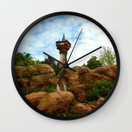 Rapunzel's Tower Wall Clock