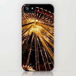 Navy Pier Ferris Wheel iPhone Case