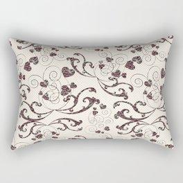 rosy heart Rectangular Pillow