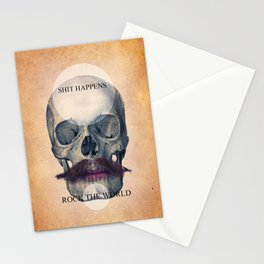Rock the World / (Skull Collection) Stationery Cards