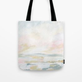 Golden Hour - Pastel Seascape Tote Bag