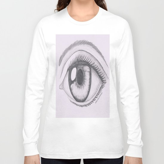 Keep your eyes open and see.... Long Sleeve T-shirt