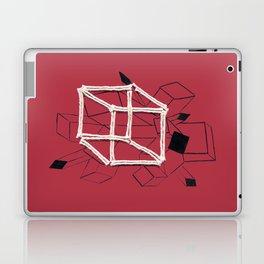 hypercube red Laptop & iPad Skin
