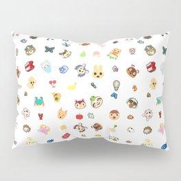 animal crossing pattern Pillow Sham