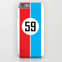 Brumos Racing Stripes iPhone Case