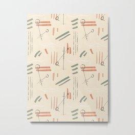 Tribal Signs #society6 #pattern Metal Print