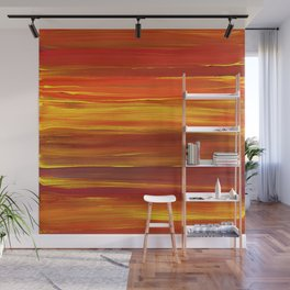 Sunset stratum Wall Mural