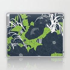 Midnight Flowers Laptop & iPad Skin
