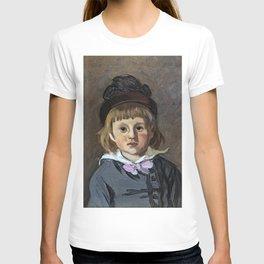 Portrait de son fils Jean en bonnet à pompon, Claude Monet T-shirt