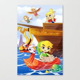 The Wind Waker Canvas Print